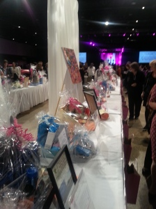 Silent Auction donations were over the top!